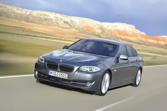 新一代BMW 5系轿车