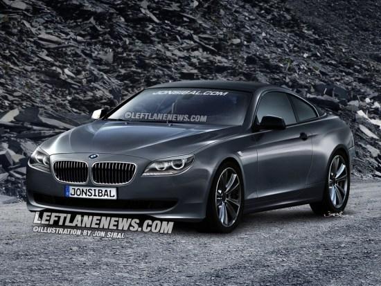 新一代宝马6系Coupe