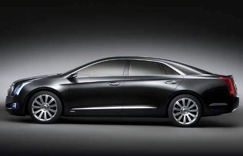 凯迪拉克XTS白金版概念车