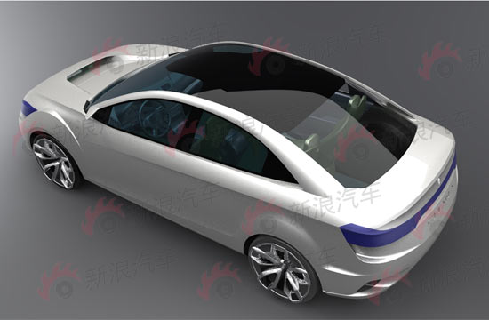 长安C201概念轿车首发
