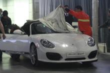 2010年北京车展探馆之保时捷Boxster Spyder