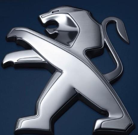 即将启用的东风标致全新品牌标识