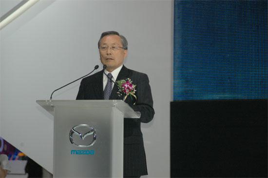 马自达首席董事、社长兼CEO山内孝