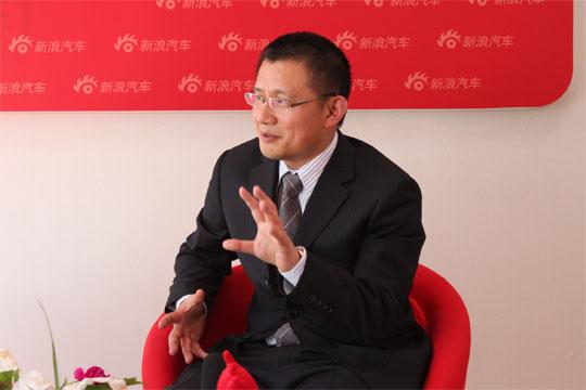 长安马自达执行副总经理安显林