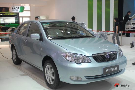 比亚迪F3DM混合动力汽车