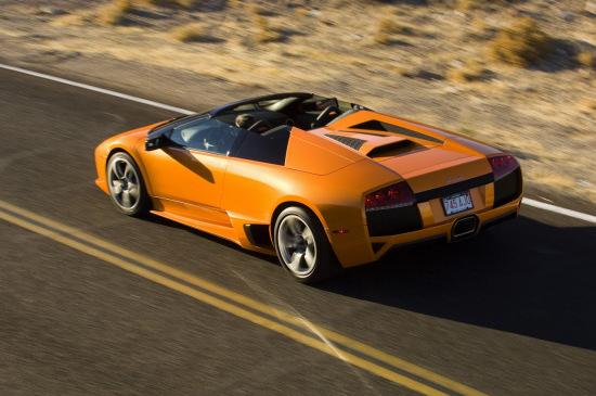 敞篷超级跑车 兰博基尼LP640 Roadster