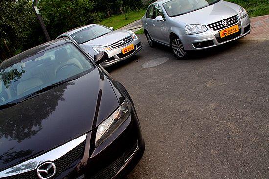 三款车的设计采用完全不同的路线思路