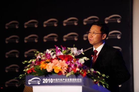 商务部机电和科技产业司司长张骥