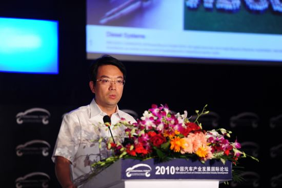 博世汽车柴油系统股份有限公司副总经理王晓东