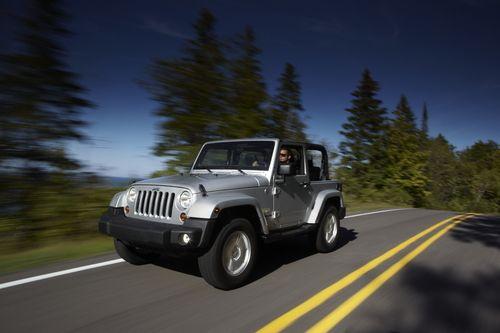 图为新款Jeep® Wrangler牧马人