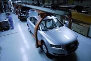 奥迪A6L总装生产线