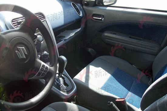 国产SPLASH副驾驶座位