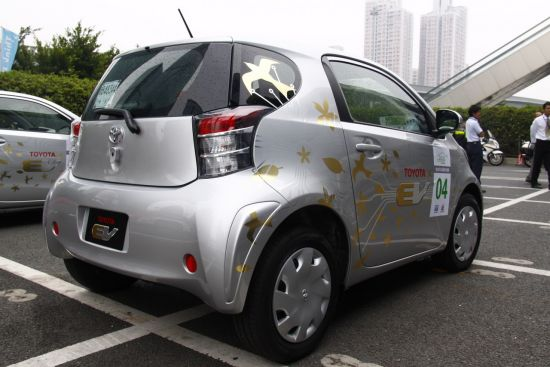 车位部分也更贴近量产车型