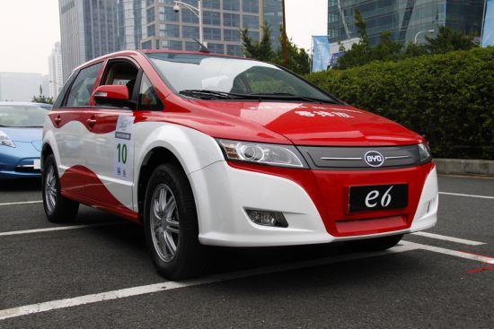 比亚迪e6纯电动车解读