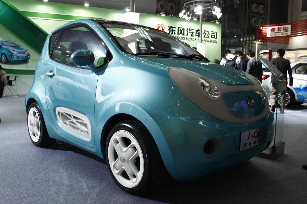 东风风神i-car纯电动车