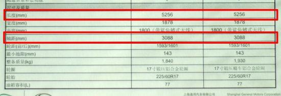 图为别克全新GL8豪华商务车配置表