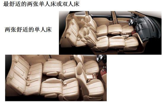 灵活多变的座椅组合