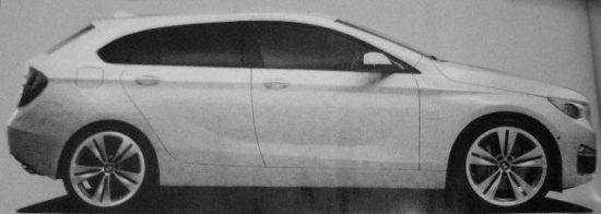 全新宝马1系GT采用前置前驱布局