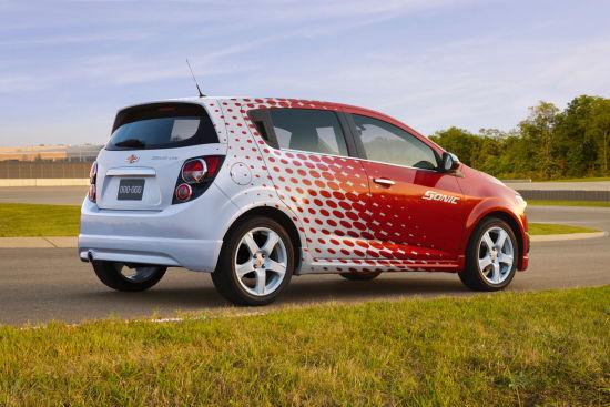 2012雪佛莱Sonic Z-Spec概念车携运动套件亮相纽约