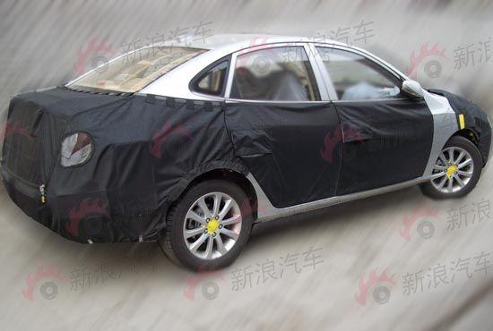 上海车展北京现代悦动改款