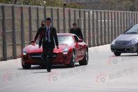 2011上海车展探馆:奔驰鸥翼超跑SLS AMG