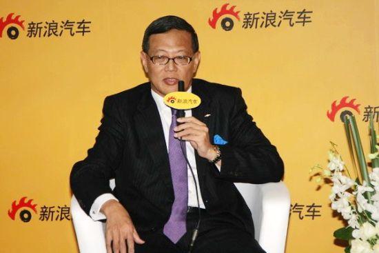 上海通用的执行副总经理刘日海先生
