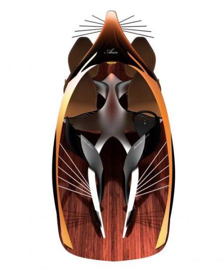 电动翅膀结构图