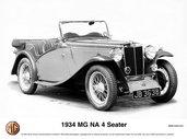 1934MG NA 4 Seater