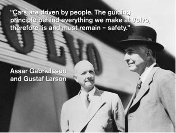 阿瑟・格布尔森(Assar Gabrielsson)和古斯塔尔・拉森(Gustaf Larson)