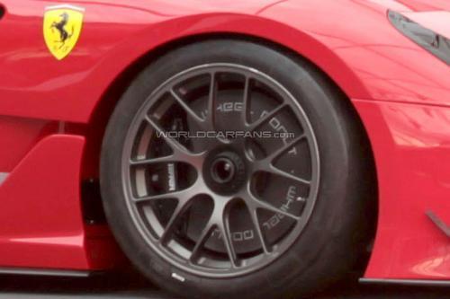 法拉利599XX EVO谍照曝光 将亮相日内瓦车展