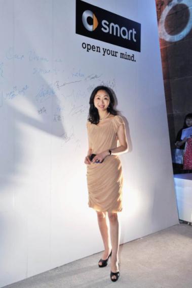 王燕女士在广州车展期间出席smart灵动之夜活动