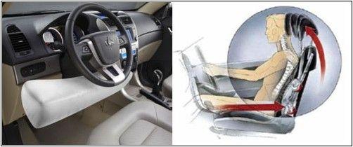 GX7拥有膝部气囊、防鞭打座椅以及其他丰富的安全配置,令人放心