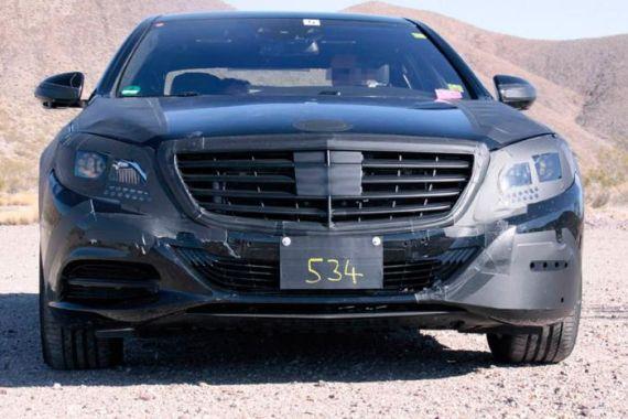新款奔驰S级谍照曝光 明年发布上市