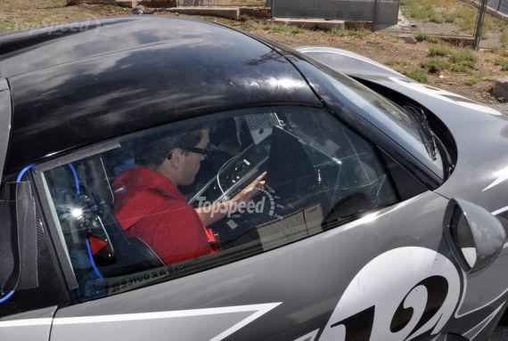 保时捷918 Spyder最新谍照