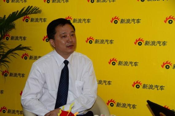 新浪汽车邀请江淮汽车陶智接受独家专访