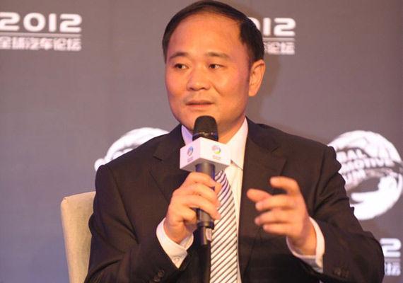 吉利集团董事长 李书福