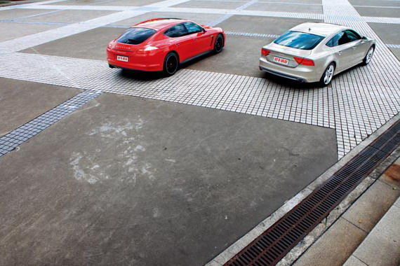 保时捷Panamera GTS & 奥迪A7 Sportback