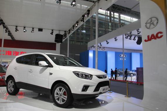 江淮SUV正式命名为瑞风S5 将于明年初上市
