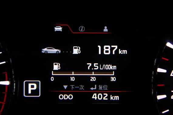 K3 1.8L自动挡百公里综合油耗