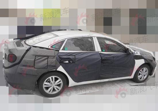 北京现代全新中级轿车
