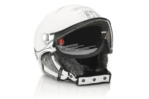 Lifestyle Lady Fur Trim Helmet