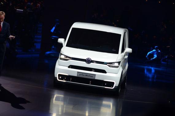大众e-Co-Motion 纯电动箱式小货车