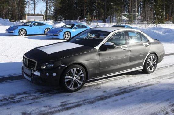 新款奔驰C级Coupe细节曝光 2015年发布