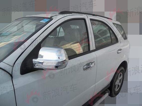 东风新款SUV车型 途逸V20谍照曝光高清图片