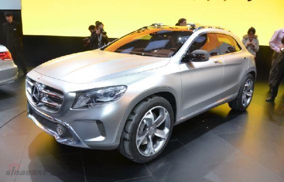 奔驰全新SUV车型GLA概念车全球首发