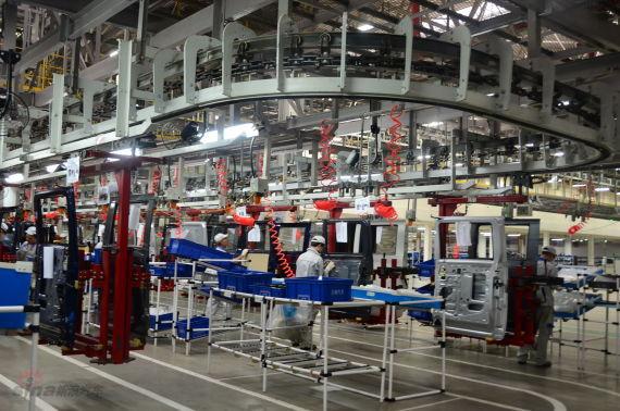 参观一汽吉林工厂
