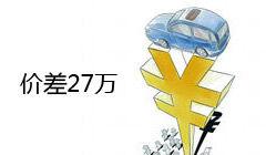 某德系越野车大贸版与小贸版价差27万