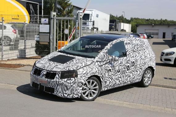 Volkswagen Golf Plus Spy