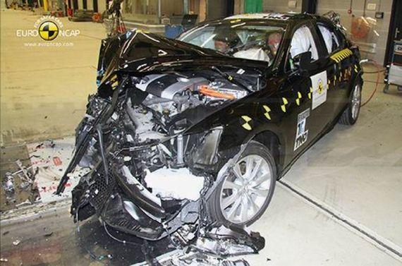 雷克萨斯IS 300h获Euro-NCAP五星评级