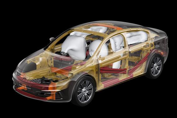 观致3轿车版获Euro-NCAP五星最高安全评级